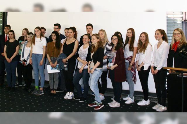 Bad Säckinger Schüler ganz vorne