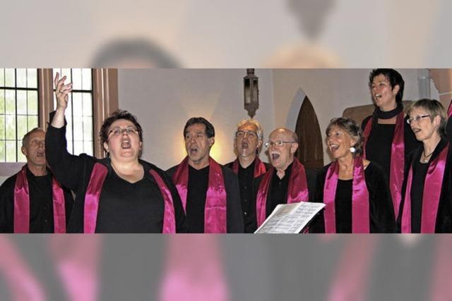 Gospelkonzert sorgt für Sommerlaune