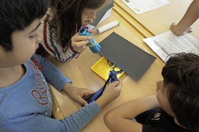 Schüler als Tier- und Pflanzenforscher