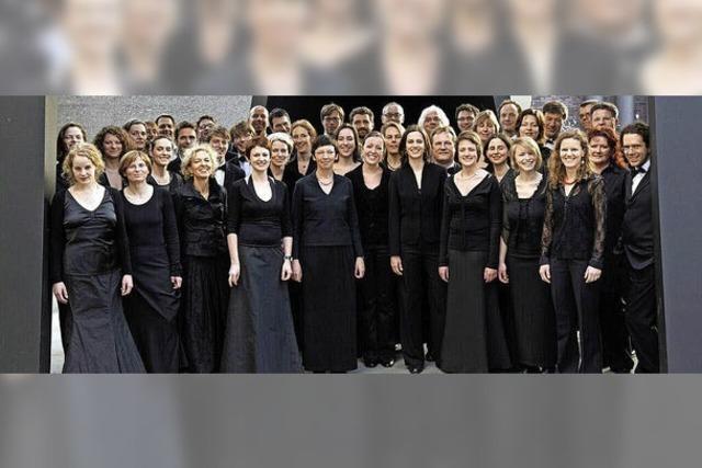Freiburger Chornacht: Gratis-Gesang unter freiem Himmel