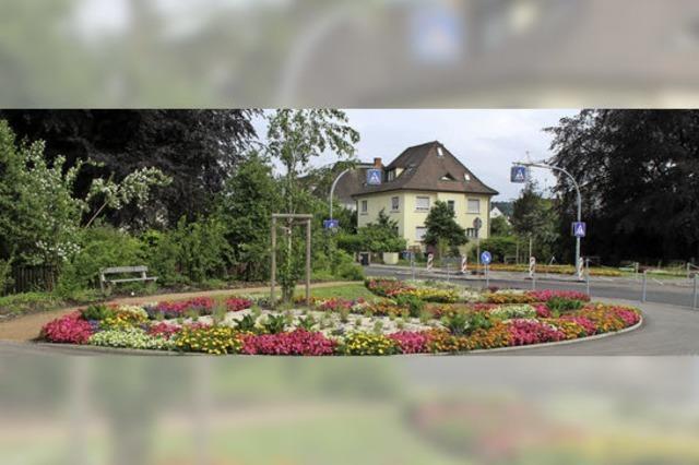 Garten symbolisiert die Freundschaft