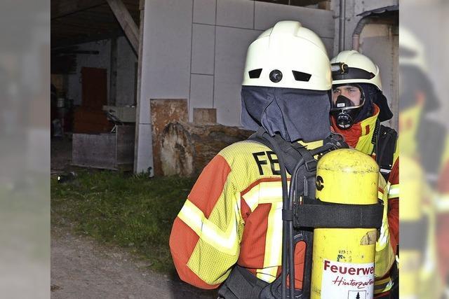 Feuerwehr bei Timeout im Einsatz
