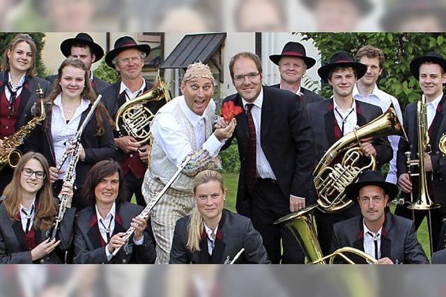 Musiker und Schauspieler bilden Einheit