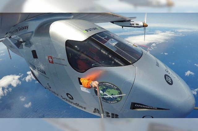 Solarflieger ist in Europa angekommen