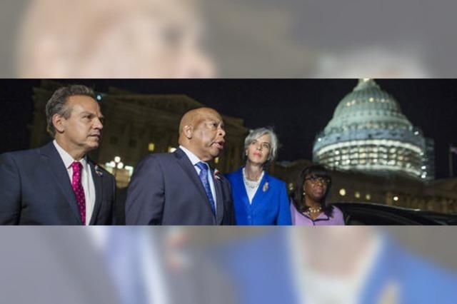 US-Demokraten gehen in den Streik