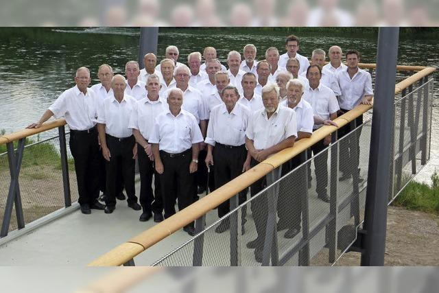 Männergesangverein Neuenburg zu Gast in Neuenburg