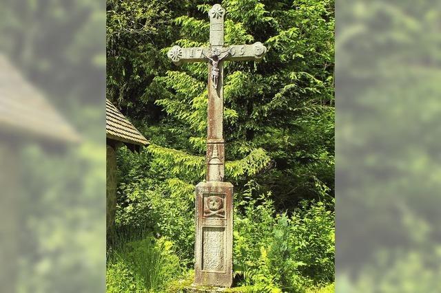 Ältestes Kreuz ist rund 250 Jahre alt