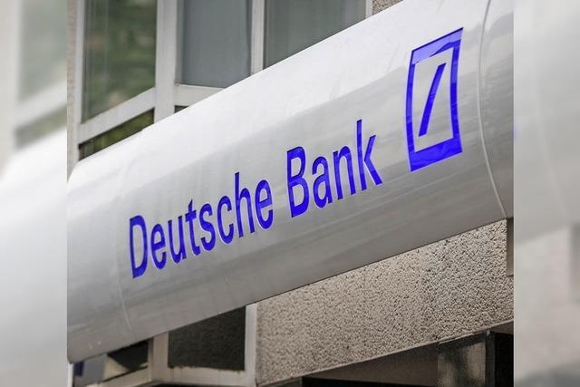 Deutsche Bank auf Rückzug