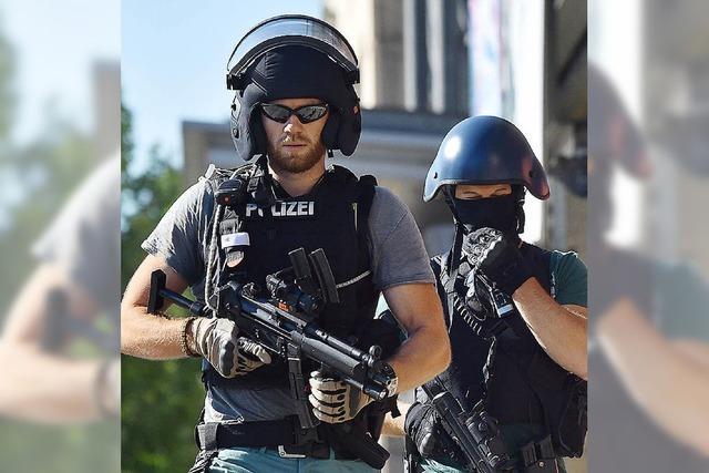 Gaspistole statt echter Waffe