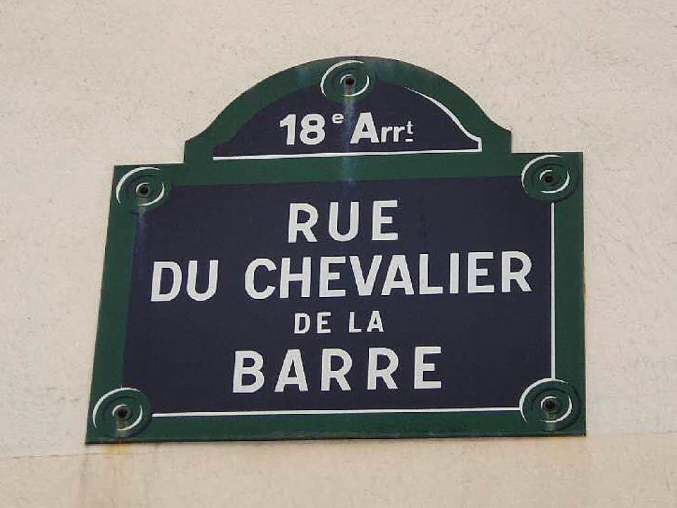 Der gerade mal 19-jährige Chevalier de...erurteilt, gefoltert und hingerichtet.