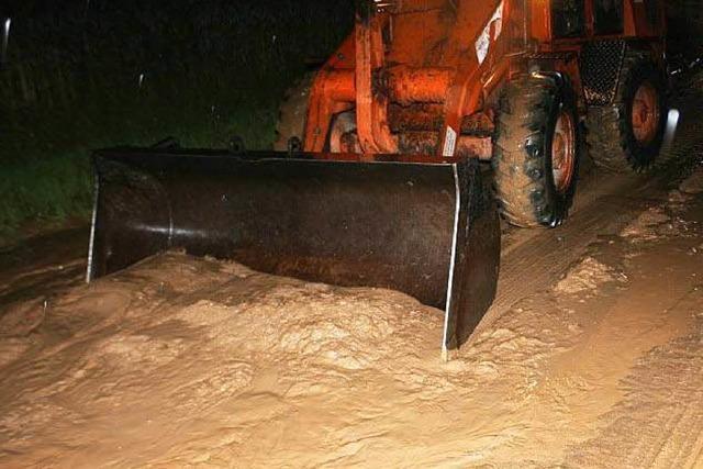 Wasser und Schlamm: Sturm wütet in Gundelfingen