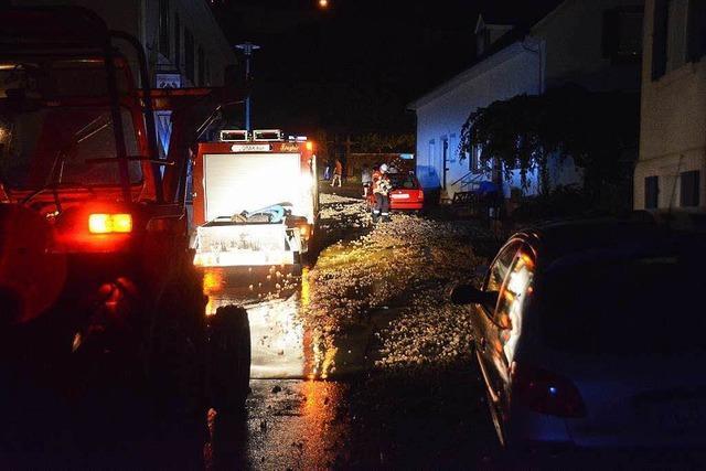 Unwetter im Südwesten - hunderte Keller überflutet, Southside-Festival abgebrochen
