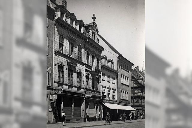 Arkaden gab's an der Kaiser-Joseph-Straße erst nach dem Zweiten Weltkrieg