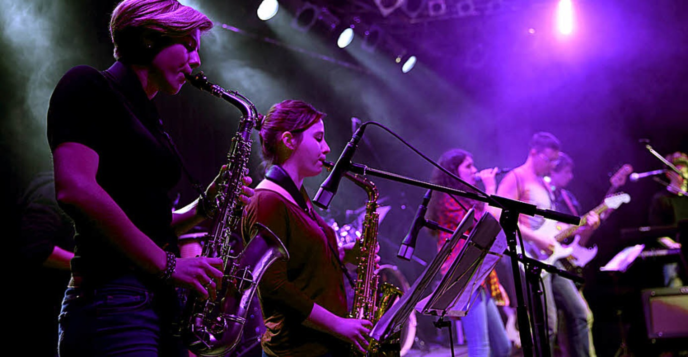 Die  Gruppe  No name ist  am 8. Juli  ...usikschule wieder mit von der Partie.     Foto: Musikschule