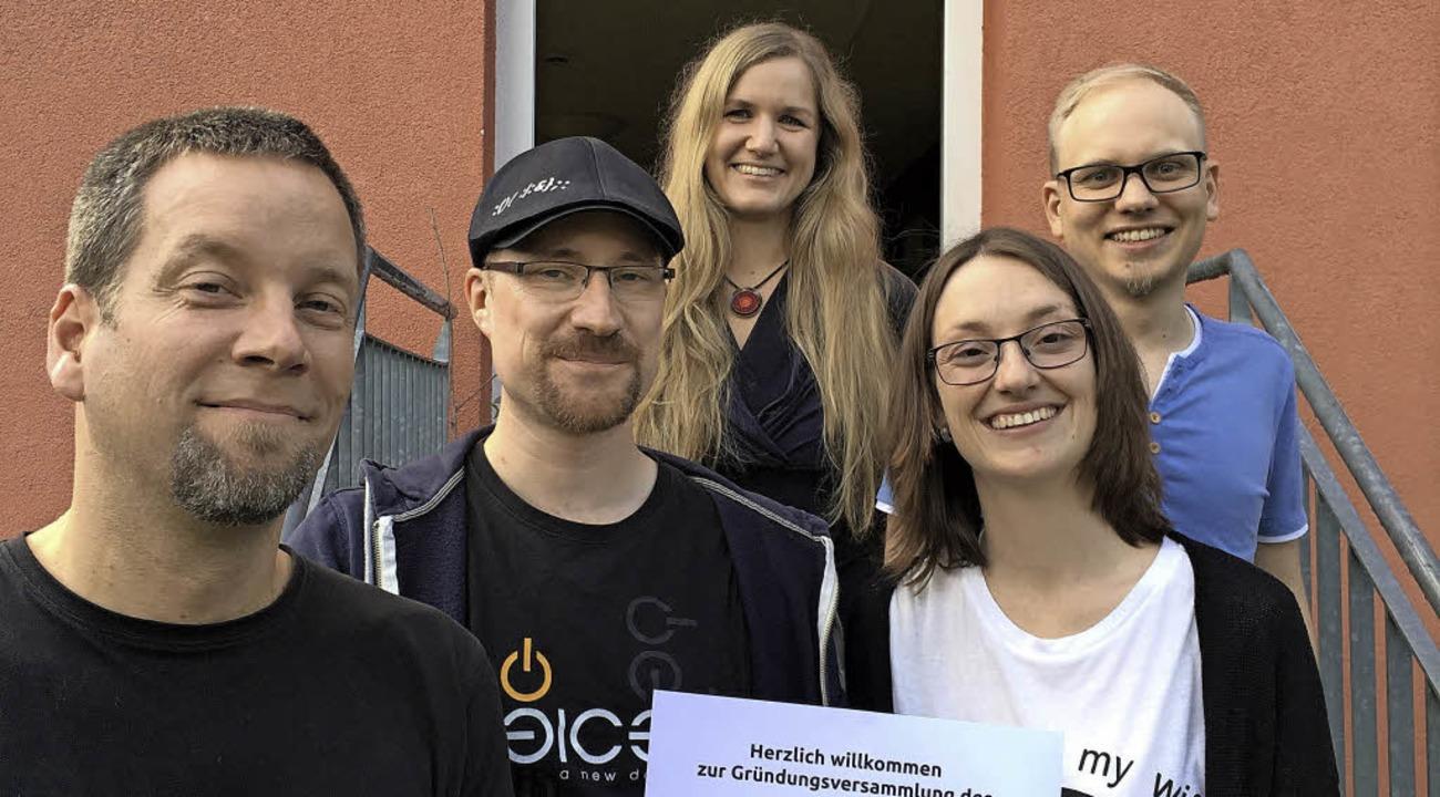 Gründung Computertruhe als Verein:  Da..., Julia Fiedler sowie Clemens Fiedler.  | Foto: Verein