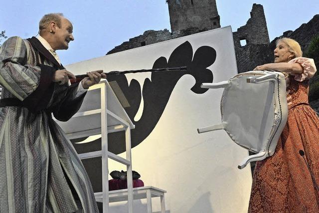 Premiere auf Burg Rötteln