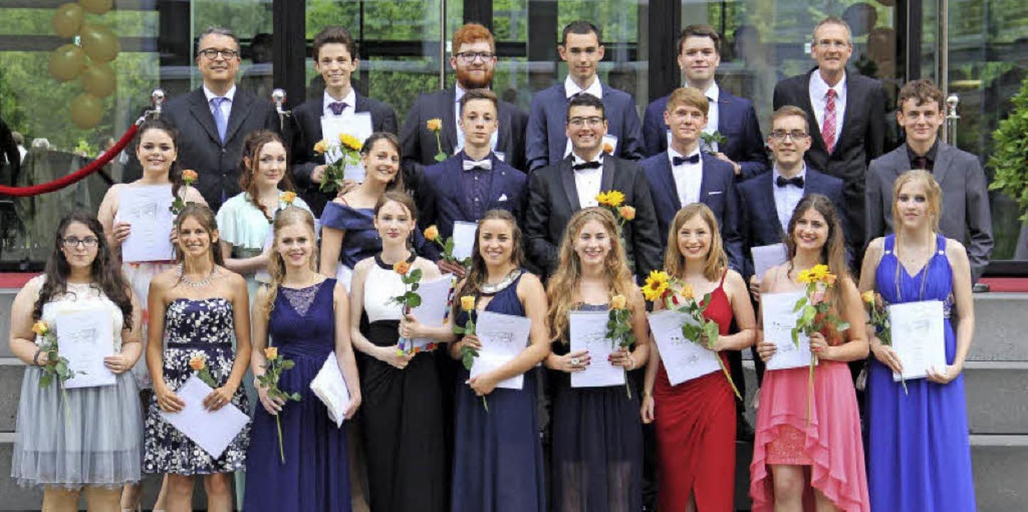 Preisträgerinnen und Preisträger des A...meinbildenden Gymnasium der Heimschule    Foto: Jakob Katzmann
