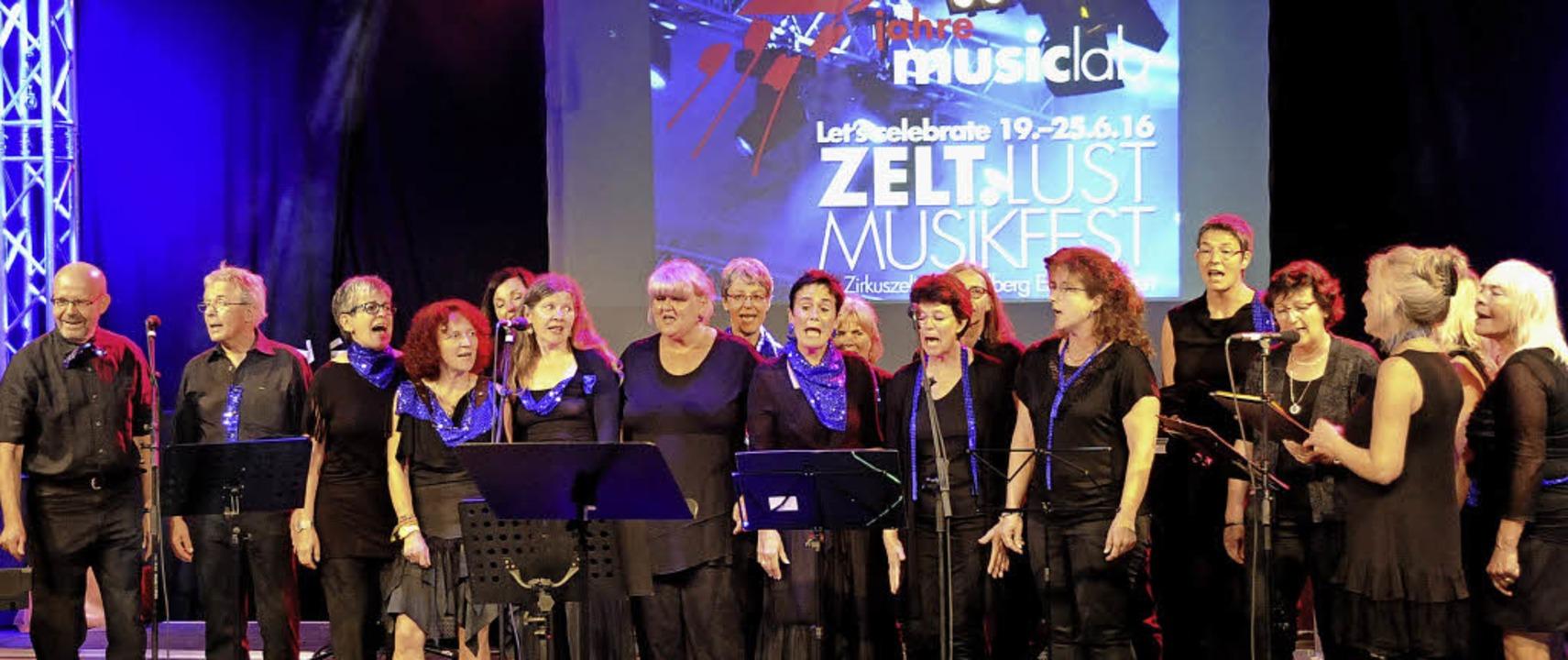 Wieder vereint - der Beatles Revival Chor, mit dem alles begann    Foto: Markus Zimmermann