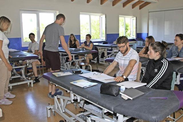Seit 25 Jahren gibt's das physiotherapeutische Ausbildungszentrum Phyteras