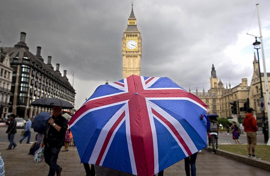 Der Brexit erschwert aus Sicht des Bas...ng der Masseneinwanderungsinitiative.   | Foto: AFP