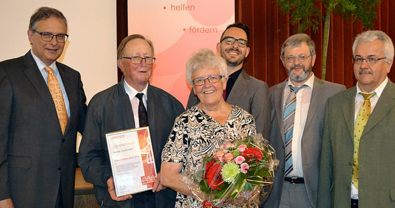Verleihung des Hans-Fräulin-Preises (v...rmeister-Stellvertreter Thomas Kaiser   | Foto: Paul Berger