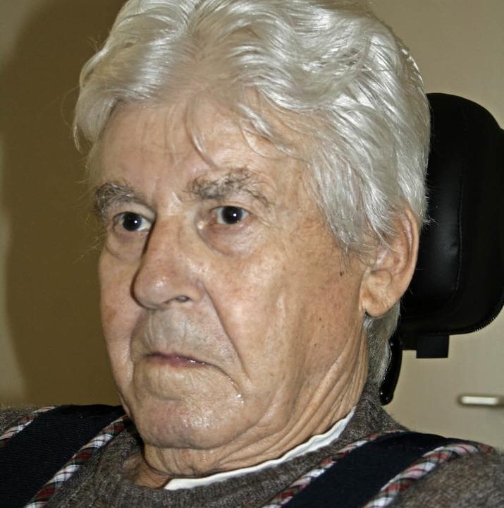 Ottmar Wetzel kann heute im Mühlehof seinen 85. Geburtstag feiern.  | Foto: Ralph Lacher