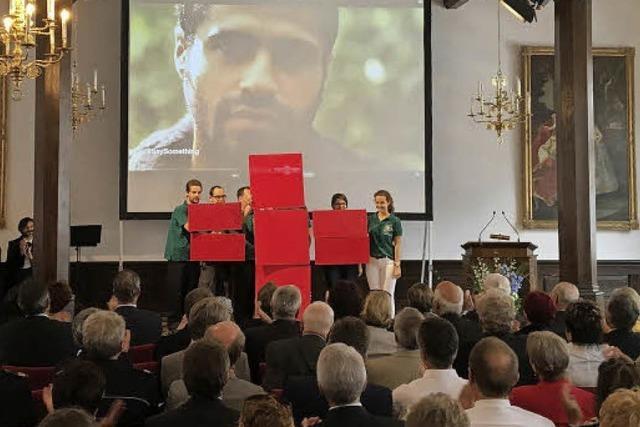 Badisches Rotes Kreuz: Hoher Besuch beim Jubiläum