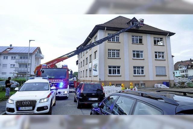Brand in der früheren St. Johannisdruckerei