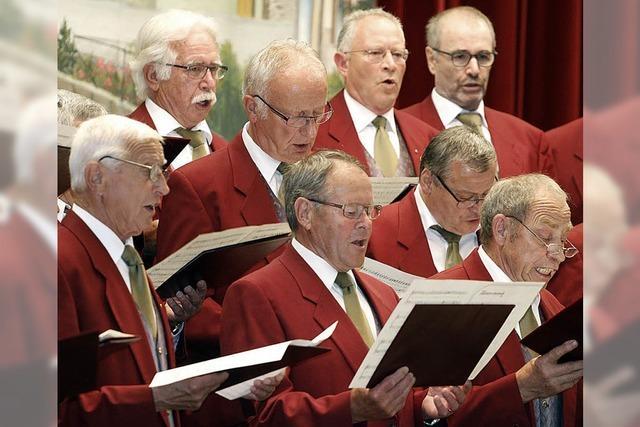 Reichenbacher Männerchor feiert den 150. Geburtstag