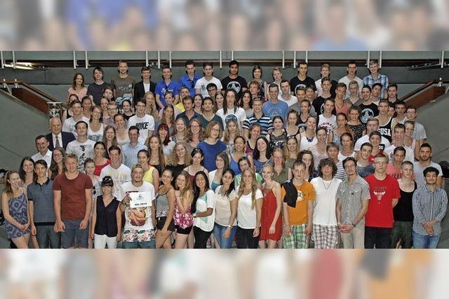 124 Abiturienten am Scheffelgymnasium