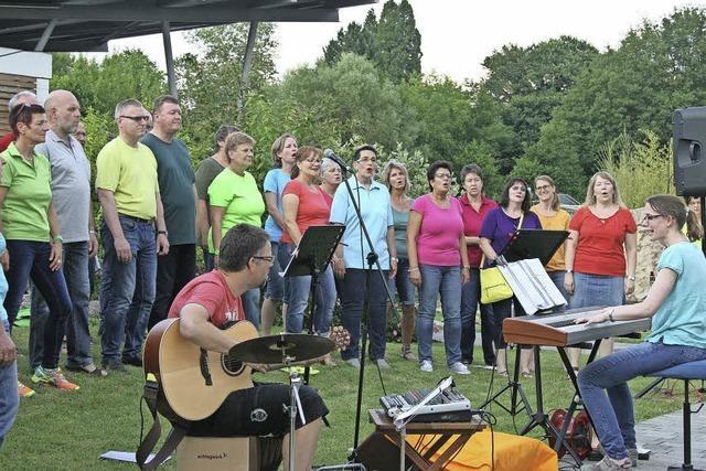 New Gospel Singers beleben Mittsommernacht