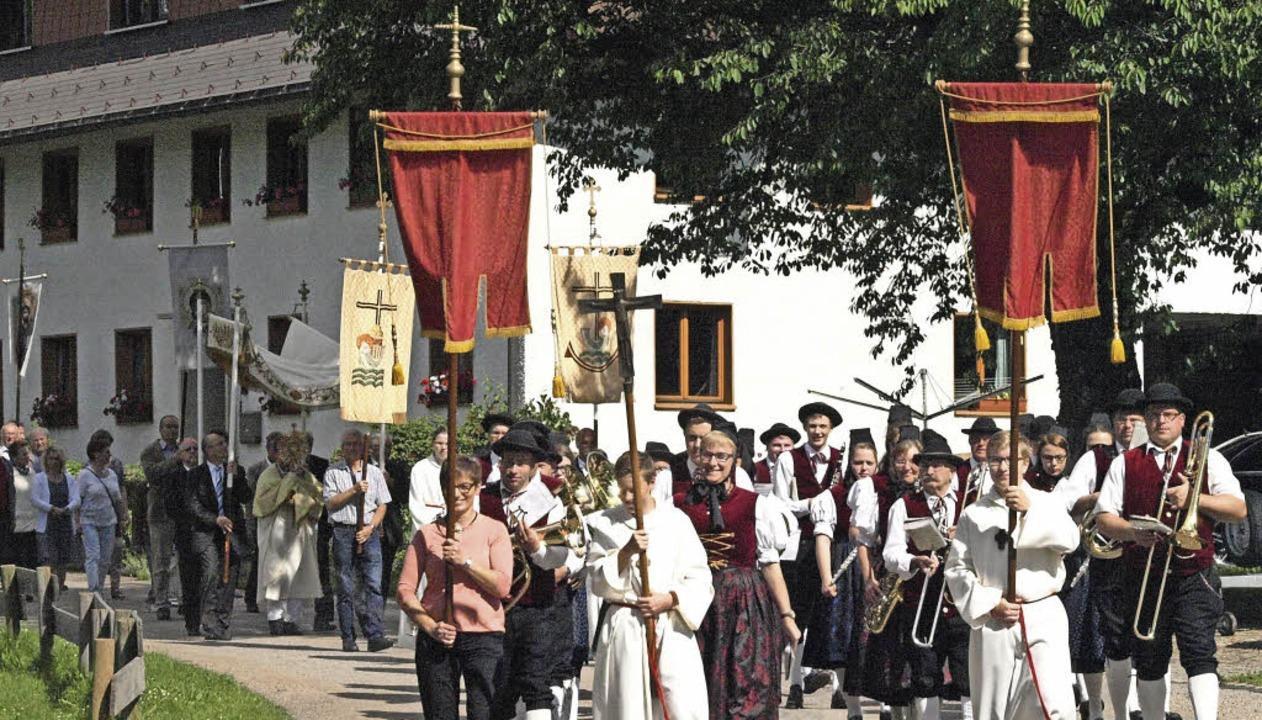 Kirchenpatrozinium, Sommerfest des Mus... gemeinsam mit ihren Gästen am Sonntag  | Foto: Karin Stöckl-Steinebrunner