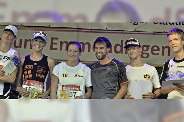 Waldkircher Doppelsieg beim Stadtlauf