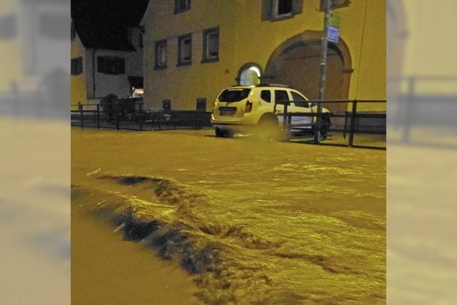 Unwetter im Südwesten: Wohngebiete und Festivals betroffen