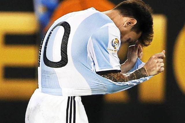 Lionel Messi erklärt Rücktritt aus Nationalmannschaft