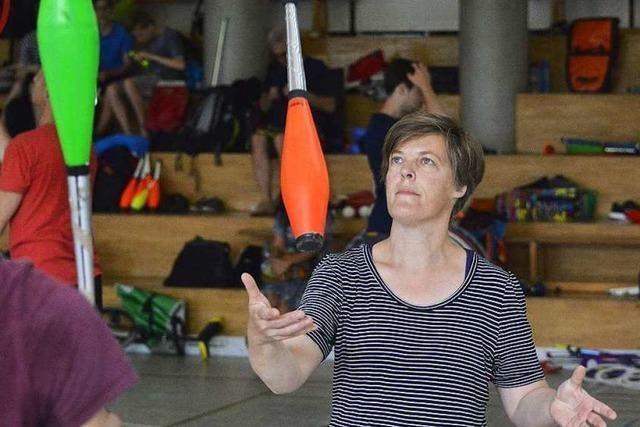 Jonglierfestival: Profis geben Tipps für Wiedereinsteiger