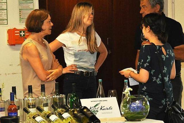 19 Betriebe beteiligten sich an der Weinkost