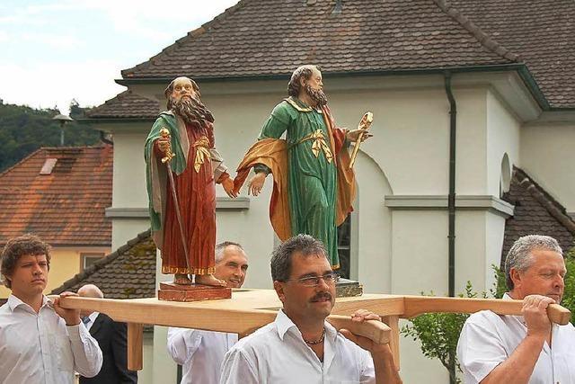 Dorfgemeinschaft feiert ihre beiden Schutzpatrone