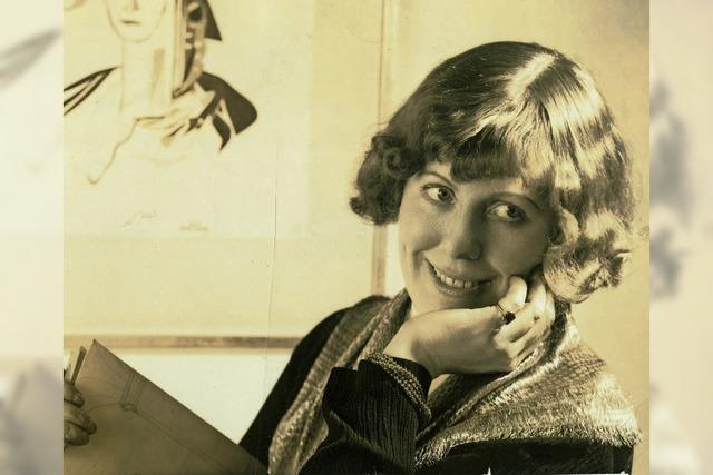 Sigrid Faltin referiert über die Gründungsdirektorin des Guggenheim Museums in New York im Rebay-Haus in Teningen