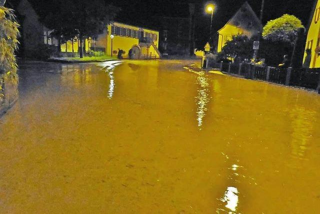 Hochwasser in Teningen: Hat der Bürgermeister Gefahren ignoriert?