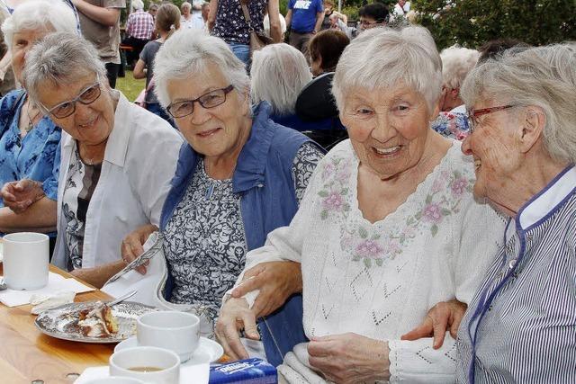 Sommerfest im Seniorenheim