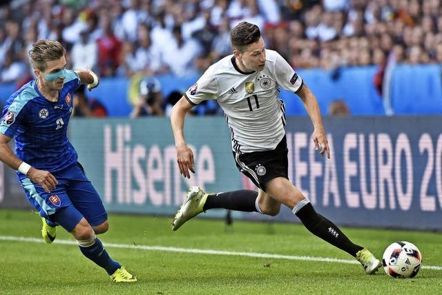 Julian Draxler - der Zauberfüßler im deutschen Team