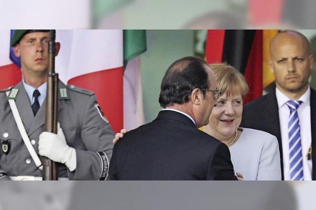 Kanzlerin Merkel handelt in den Augen der SPD zu zögerlich