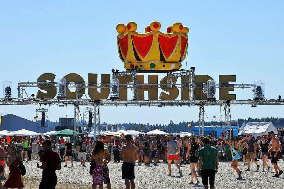 Sonne, Regen, Schlamm und Abbruch: Das Southside-Festival dauerte nicht lang. Unser Fotograf hat trotzdem ein paar Highlights festgehalten. (Foto: Wolfgang Scheu)