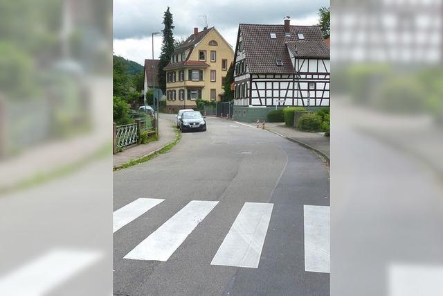 Die Werderstraße wird gesperrt