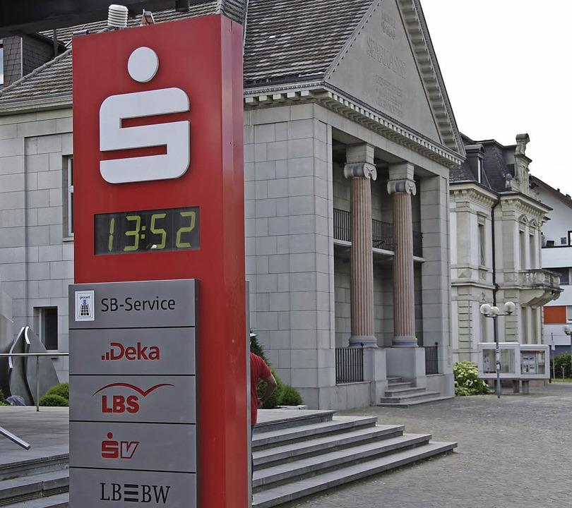 Die Sparkasse Markgräflerland – ...m – schreibt weiter gute Zahlen.  | Foto: Martin Pfefferle