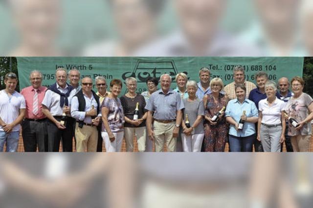 Tennisclub feiert 40-jähriges Bestehen