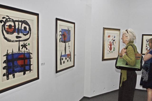 Suche nach dem Gegenständlichen in Mirós Fantasiewelt