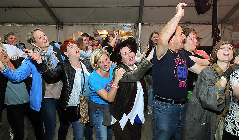 Beste Stimmung herrschte beim Jubiläumsfest.   | Foto: Wolfgang Künstle