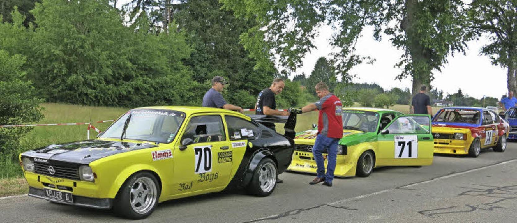86 Motorsportler hatten am AMC-Slalom teilgenommen.   | Foto: Erhard Morath